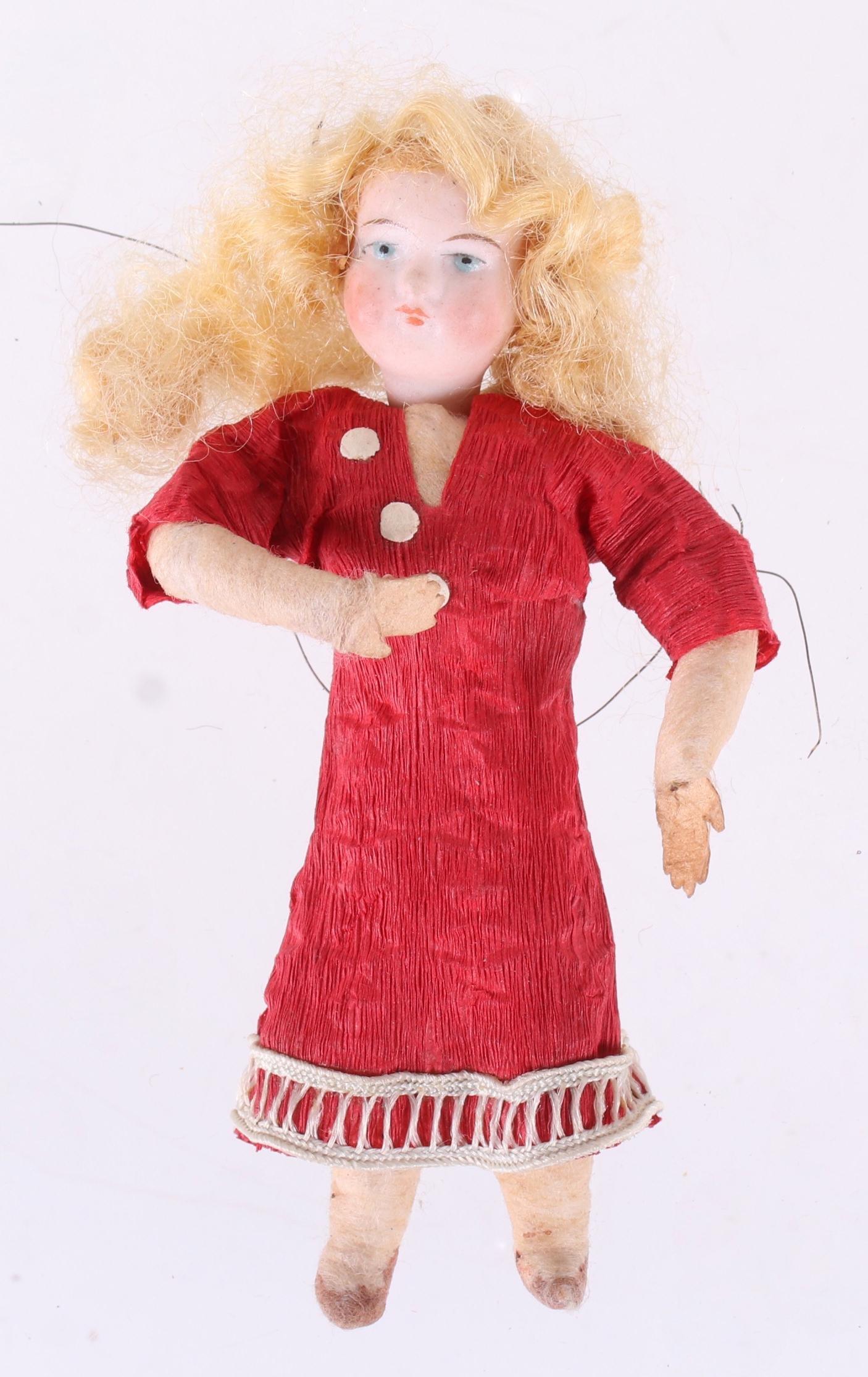 A German Christmas Ornament, Girl