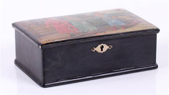 A 19th Century Russian Laquered Box