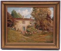 John Smith Atherton (British 1877-1943) Oil/Canvas