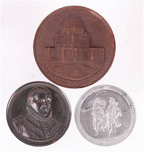 Three Columbian Exposition Medals