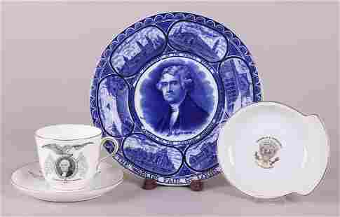 A Group of Ceramics Presidential Centennial