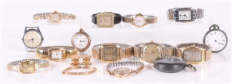 A Group of Vintage Wristwatches Etc