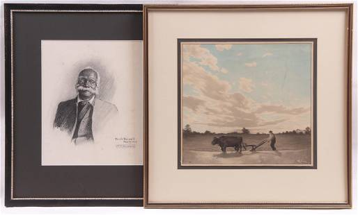 Franck Taylor Bowers American 18751932 Two Works