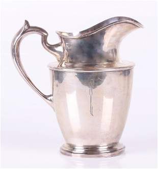 A Sterling Silver Pitcher