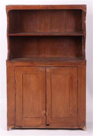 A 19th Century American Cupboard