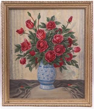 Alfred Kusche (German 1884-1984) Oil on Canvas