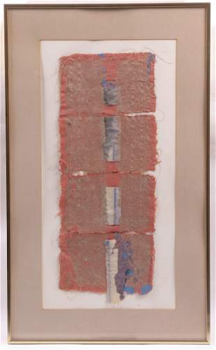 Leanne Weissler American 20th C Collage