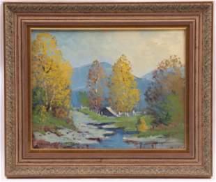 Ernest Fredericks (American 1877-1959) Oil on Canvas