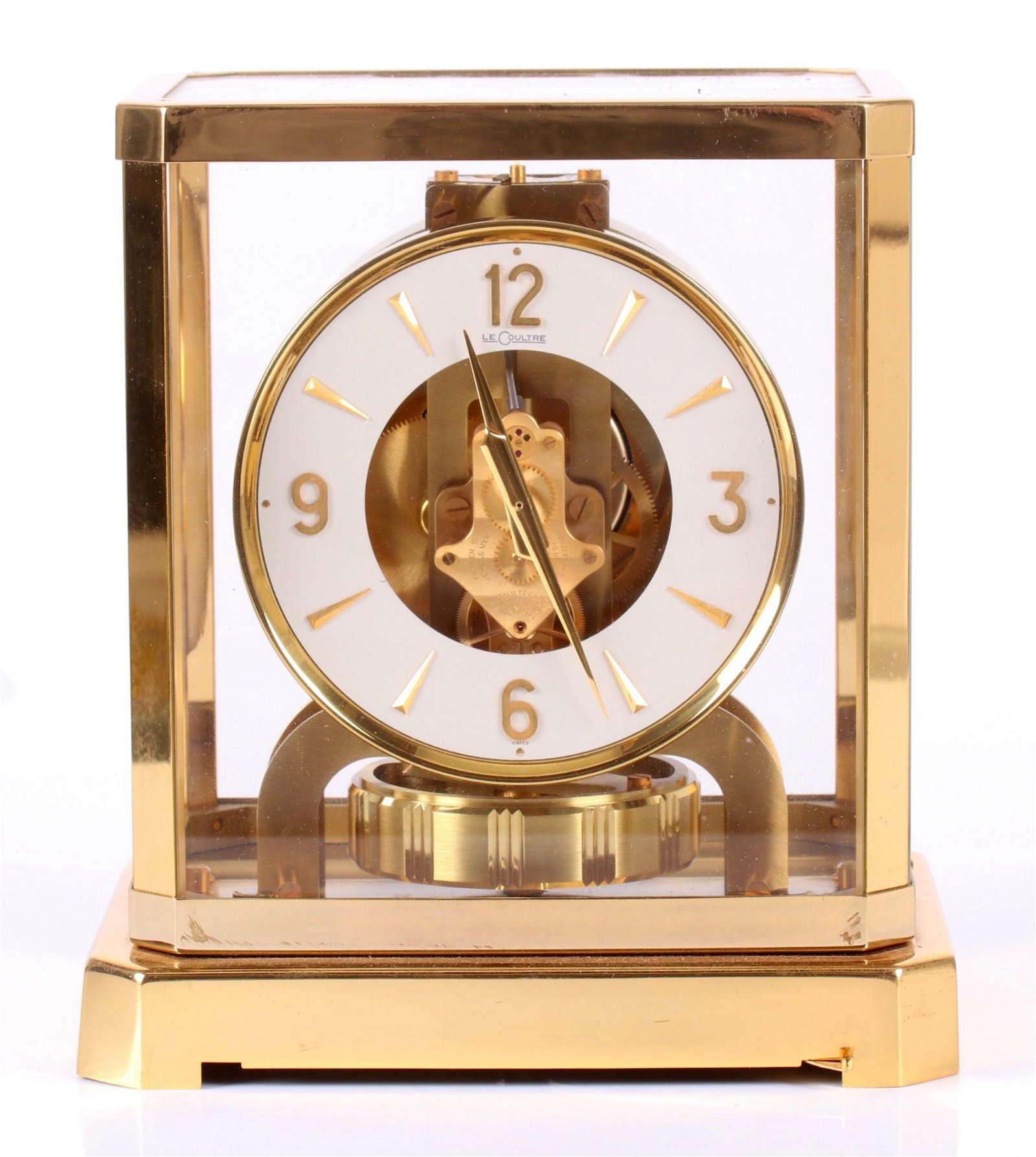 An Atmos Clock by Jaeger Lecoultre