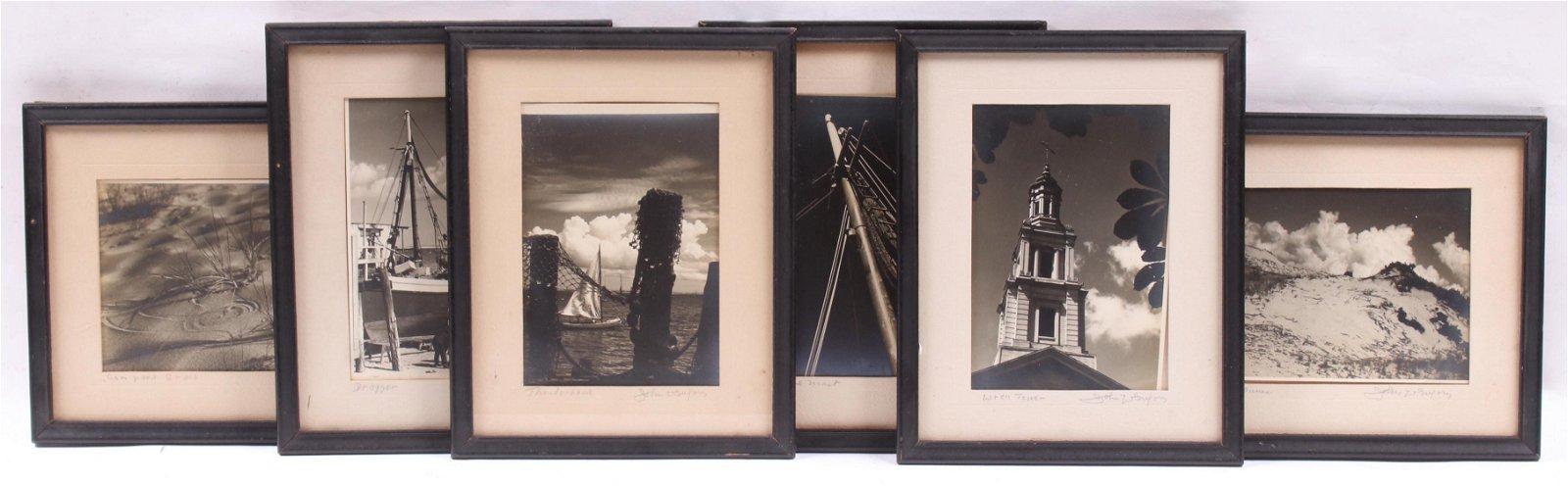 John W. Gregory (1903-1992) Six Photographs