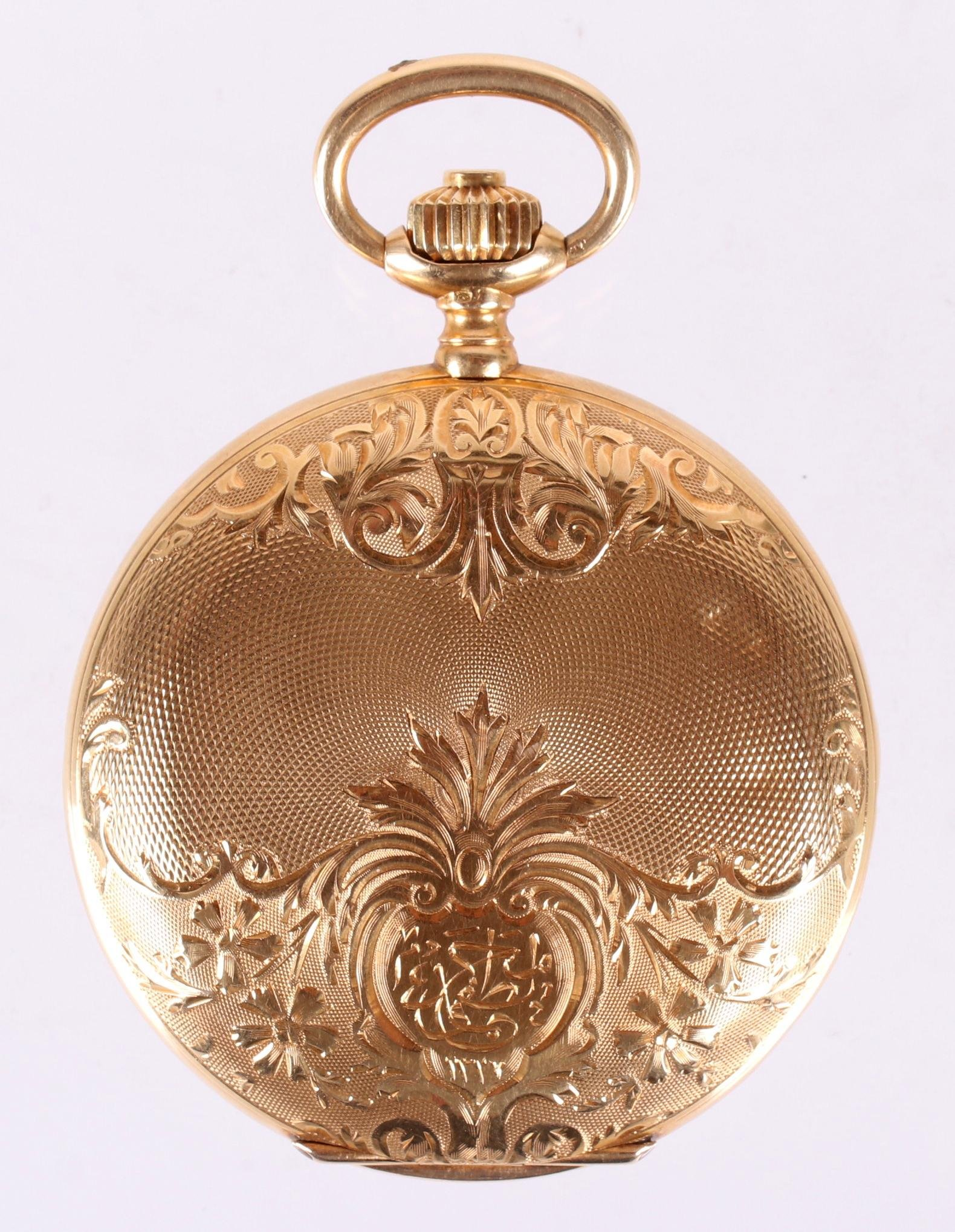 Longines 18k Gold Pocket Watch