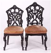 A Pair of Victorian Side Chairs