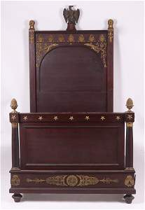 A Fine French Empire Bed