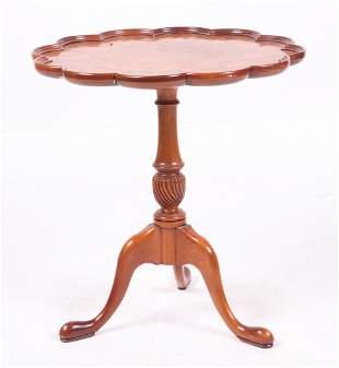 A Small Mahogany Tea Table