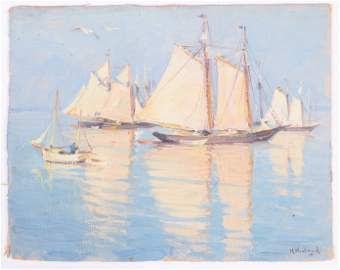 Mabel May Woodward (1877 - 1945) Oil on Canvas