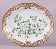 A Royal Copenhagen Flora Danica Platter