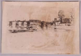 James Abbott McNeill Whistler, Etching