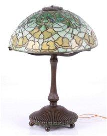 Tiffany Studios Bellflower Table Lamp