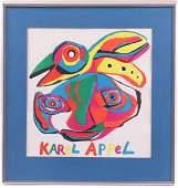 A Karel Appel Poster
