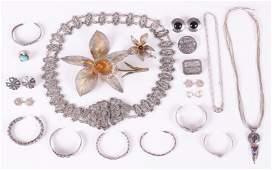 Silver Estate Jewelry Some Native American
