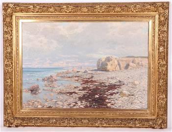 Hans Schleich (1834 - 1912) Oil on Canvas