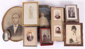 A Group of Antique Photographs
