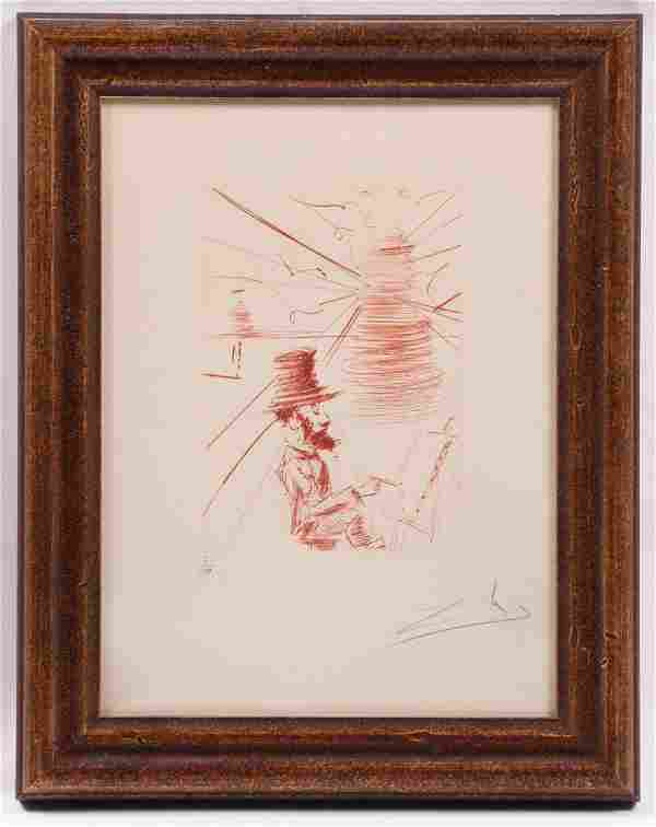 Salvador Dali, (Spanish, 1904-1989) Etching