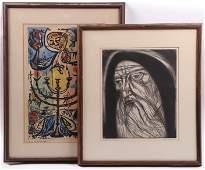 Irving Amen (1918-2011) Two Prints