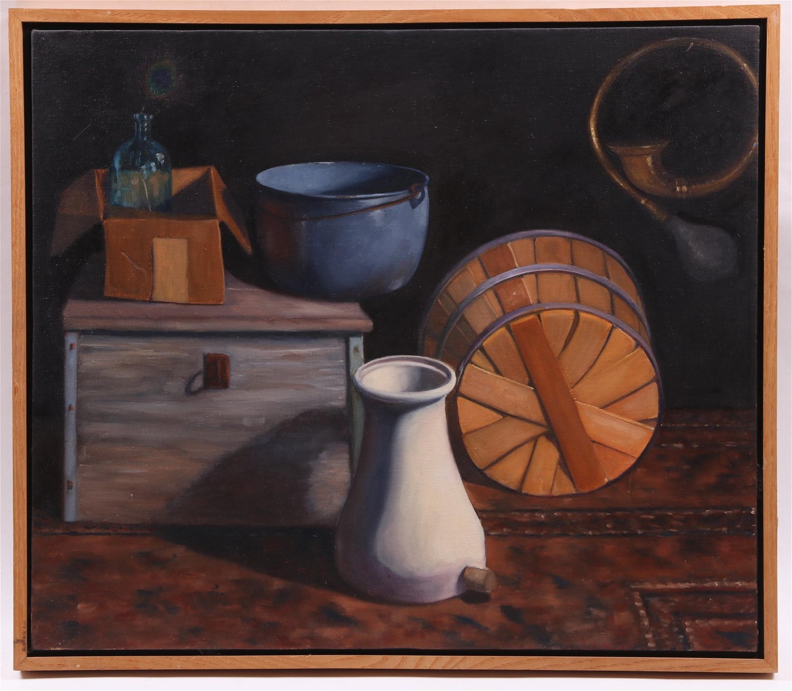 A Modern Still Life, Oil on Canvas