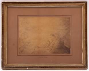 Moritz August Retzsch (1779 - 1857) Drawing