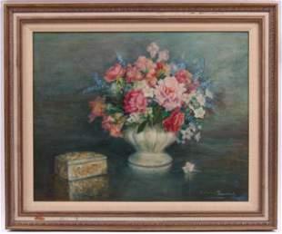 A Floral Still Life, 20th Century