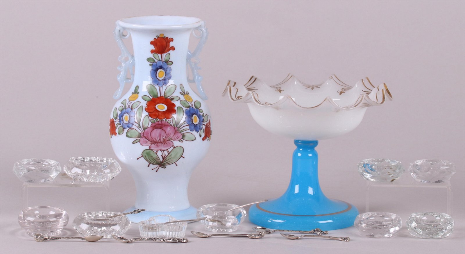 A Group of Estate Glass