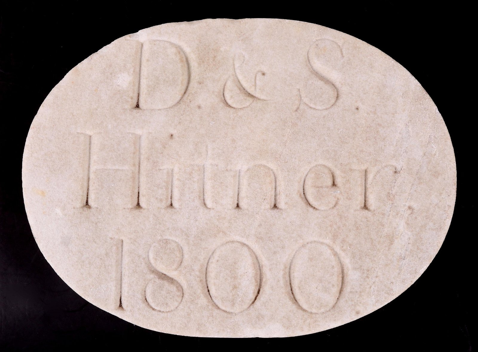 An Early Marble House Marker