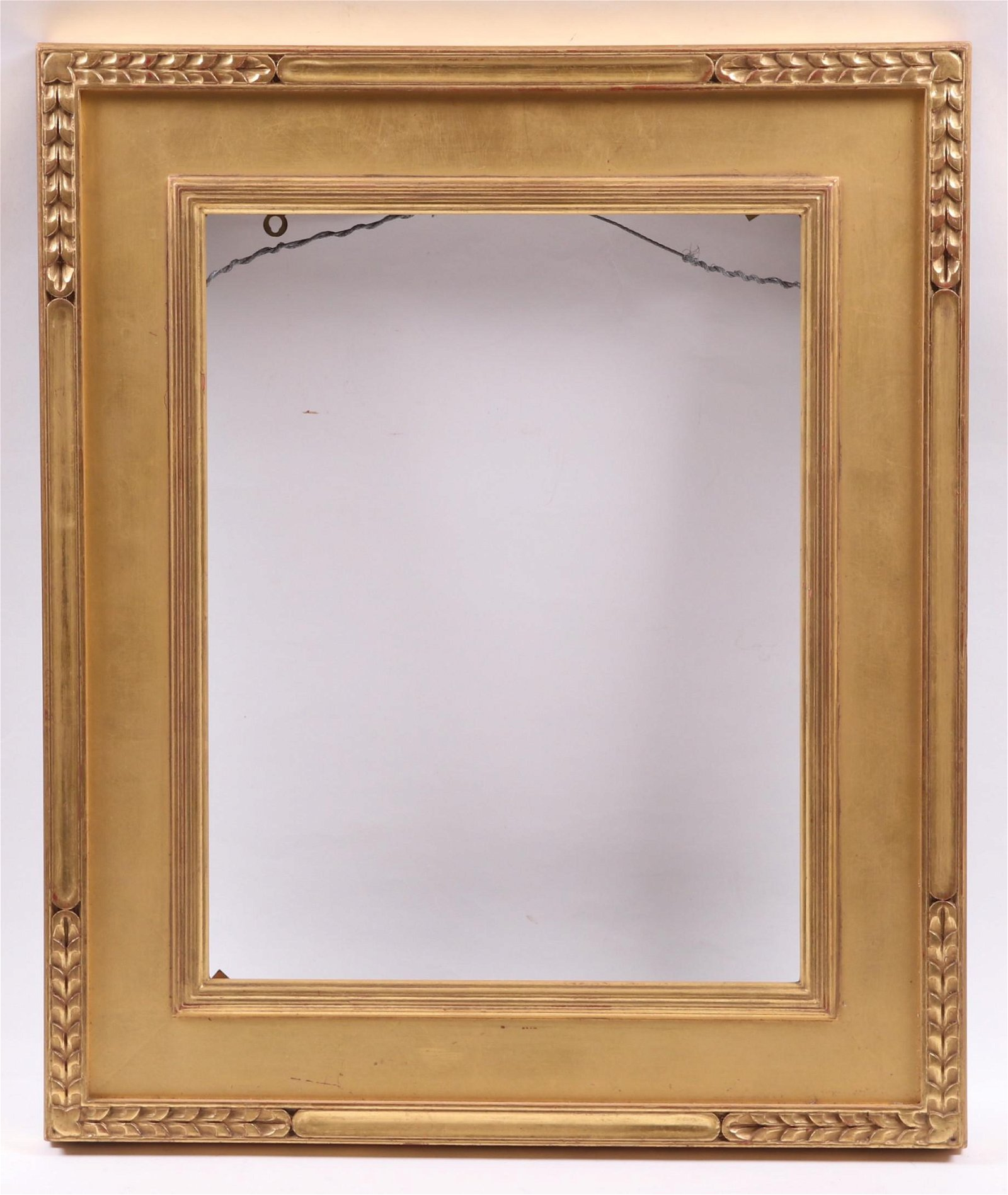 A Carved and Gilt Frame, Style of Harer