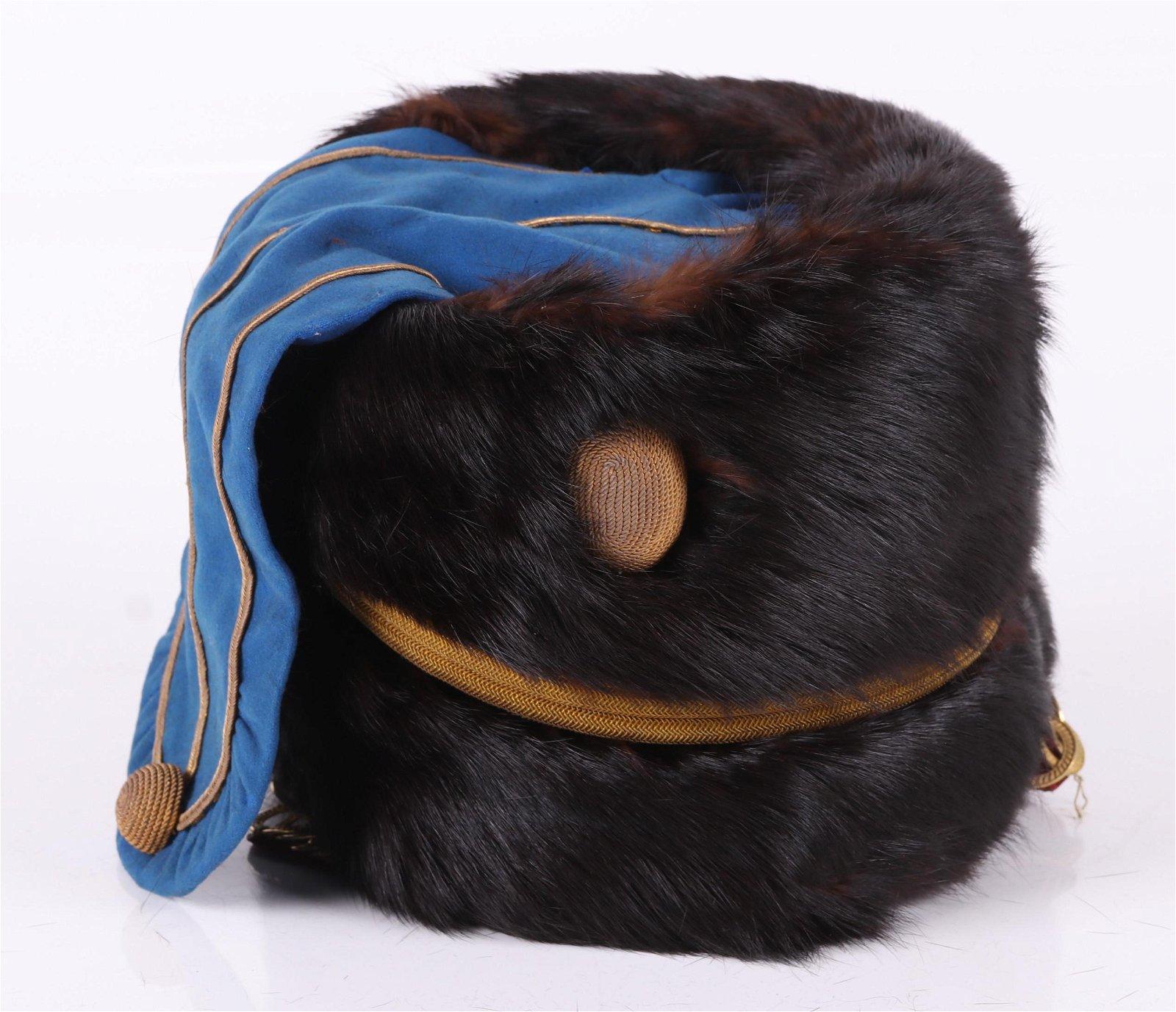 A 19th Century English Hussar Hat
