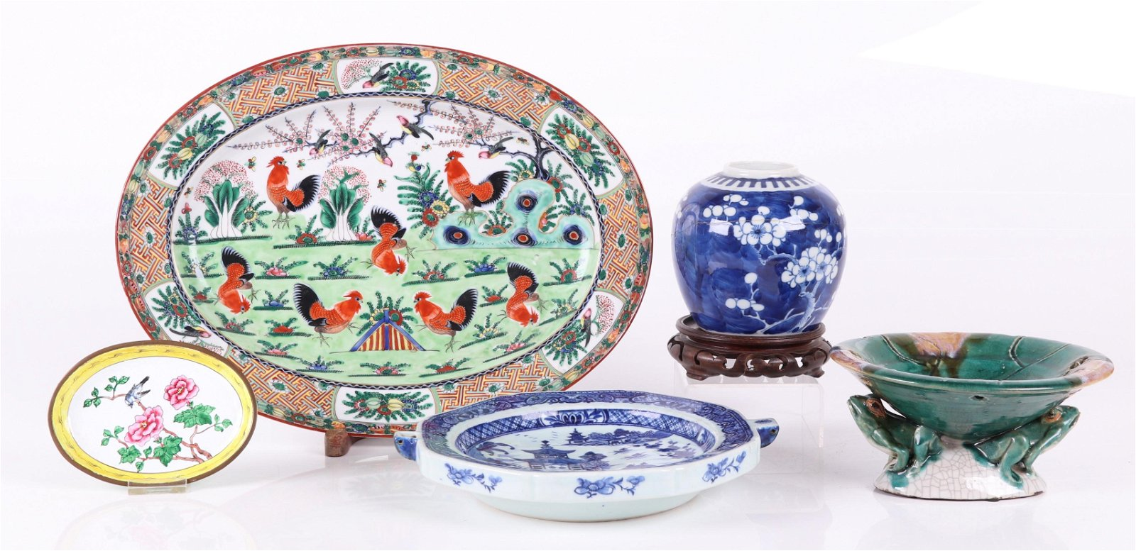 Estate Lot, Chinese Items, Porcelain