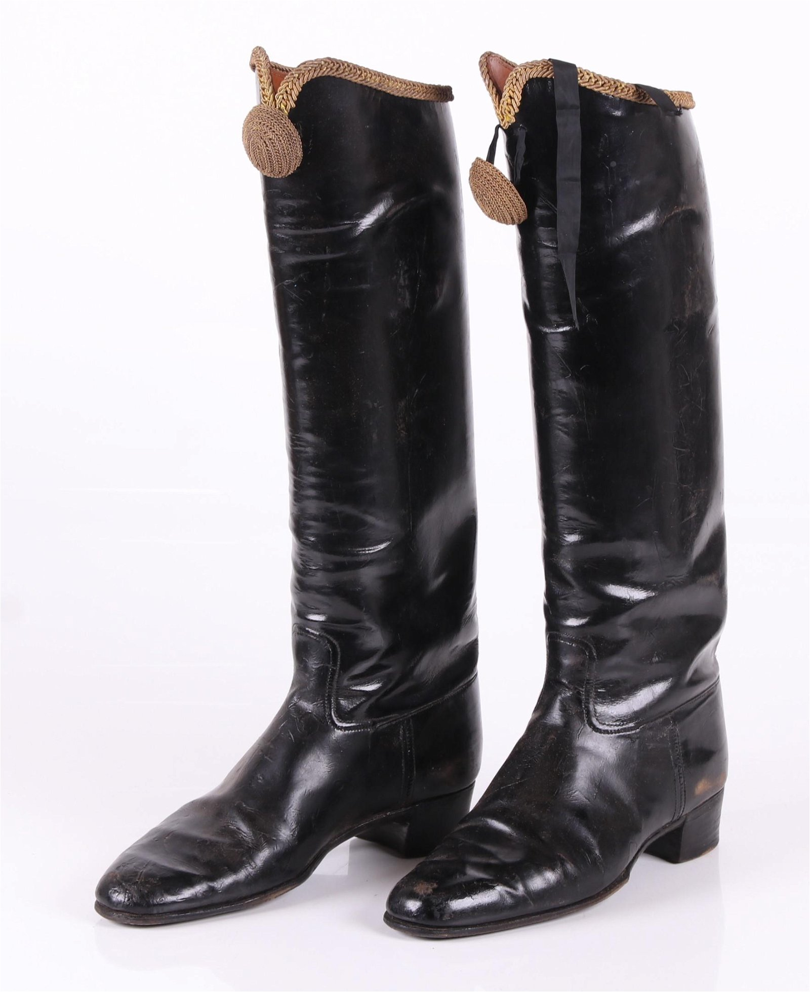 A Pair of Leather Military Boots, Hussars