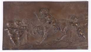 Michel Claude Clodion (1738 - 1814) Bronze Plaque