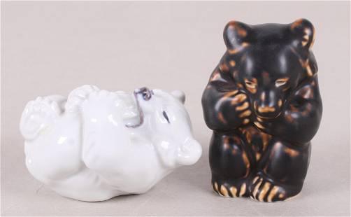 Knud Kyhn, Royal Copenhagen Porcelain Bears