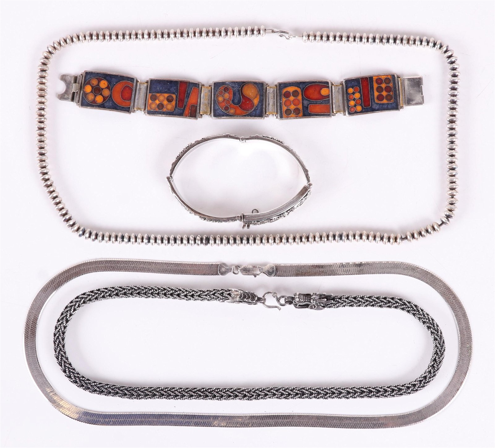 A Group of Estate Jewelry, Sterling