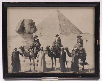 An Early 20th Century Photograph, Egypt