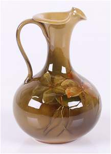 A Rookwood Pottery Ewer Dated 1892