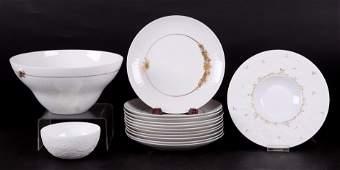A Group of Rosenthal Porcelain Magic Flute Medley