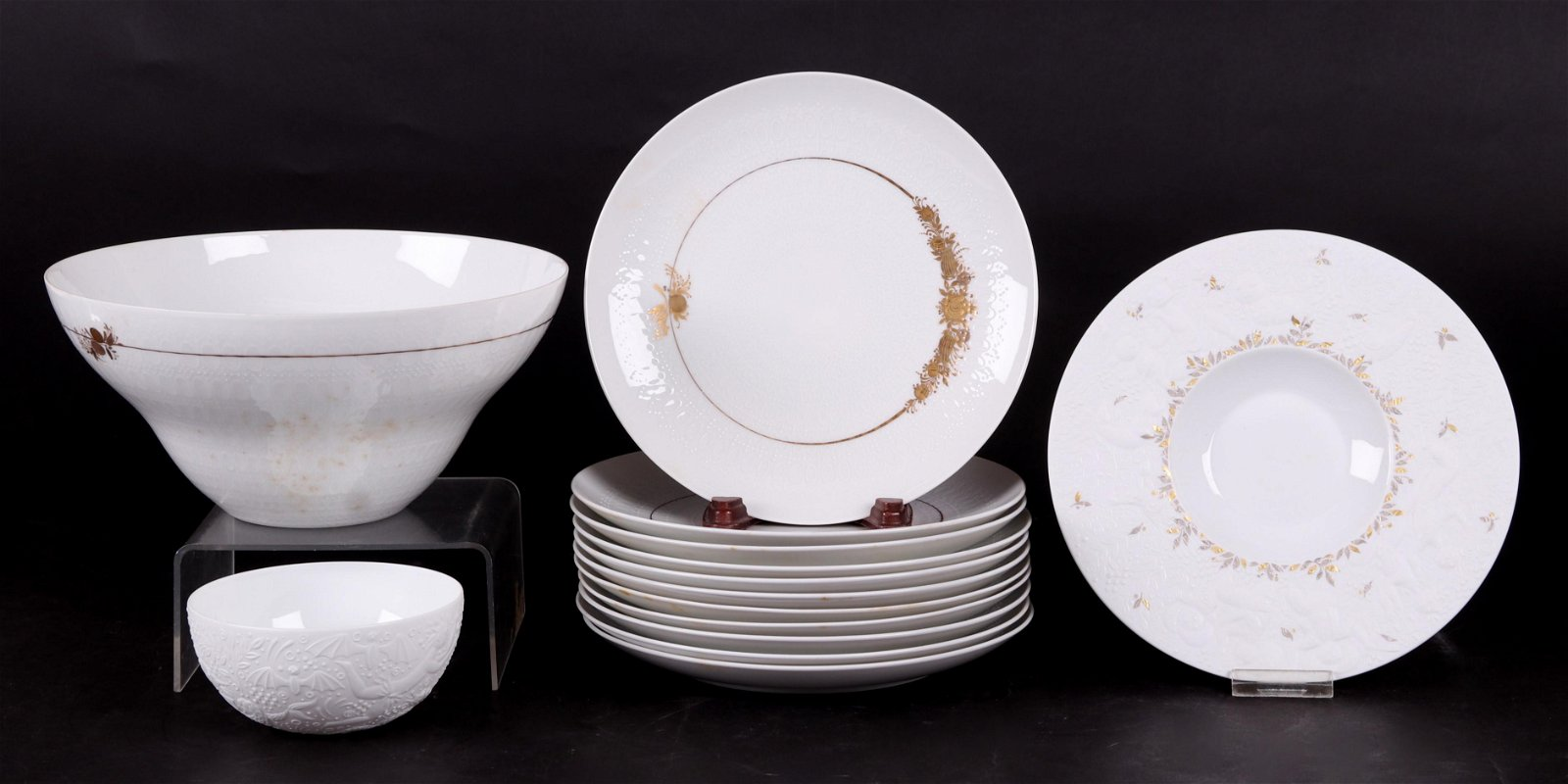 A Group of Rosenthal Porcelain, Magic Flute, Medley