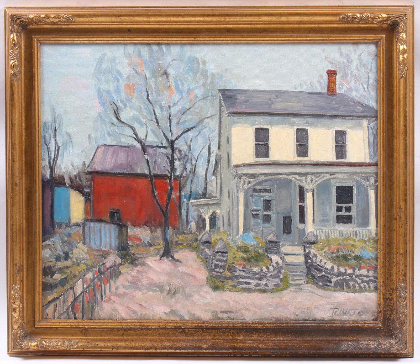 Michael Trovato (Born 1962) Oil on Canvas