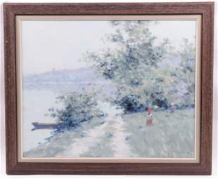 Andre Gisson (1921 - 2003) Oil on Canvas