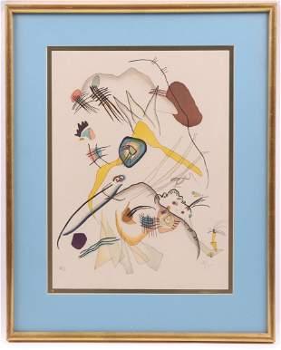 After Wassily Kandinsky, Lithograph