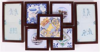 A Group of Tiles, Etc...