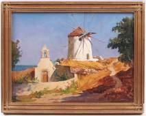 Rudolph Colao (1927 - 2014) Oil on Canvas