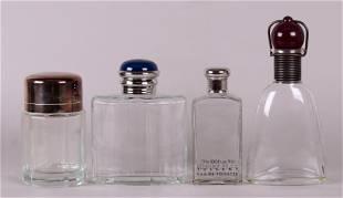 Four Large Factice Perfume Bottles